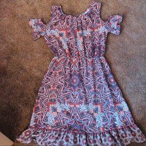 Beautiful Cold Shoulder Lauren Conrad Dress Large